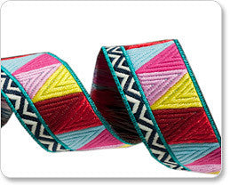 Amy Butler Woven Jacquard ribbons by Renaissance ribbons