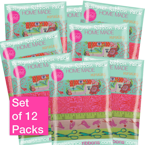 PRE-ORDER for MARCH-Tula Pink-HomeMade Morning-Wholesale 12 Packs