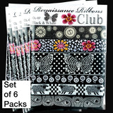 Black & White-Wholesale 6 Packs