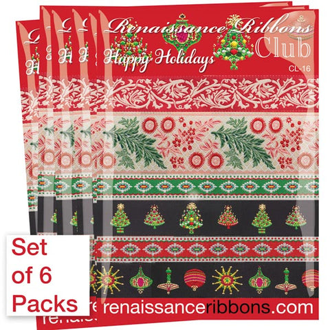 Happy Holidays-Wholesale 6 Packs