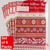 French General La Vie en Rouge-Wholesale 6 Packs