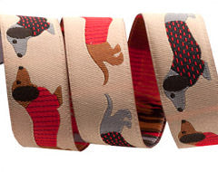 Jessica Jones Woven Jacquard Ribbons by Renaissance Ribbons
