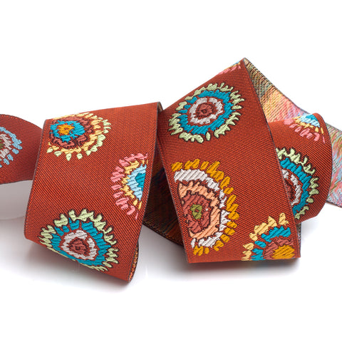 Rust Plink Ribbon by Kaffe Fassett