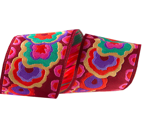 Floral Kite Ribbon by Kaffe Fassett