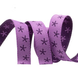 "Stars on Purple - 3/8"" - Sue Spargo"
