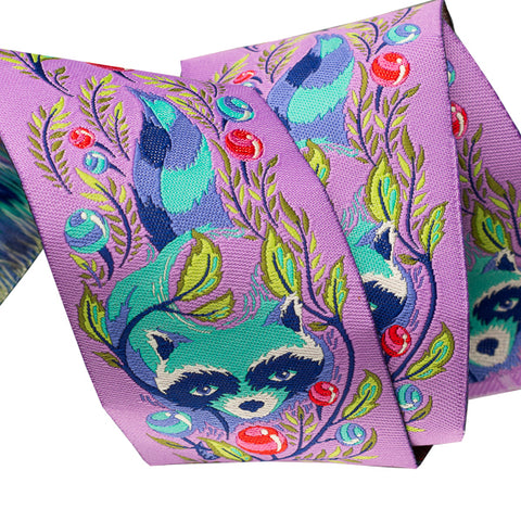 Raccoon Fuchsia by Tula Pink - 2""