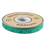 Measure Twice, Noon Mint-Tula Pink-5/8""