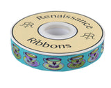"PRE-ORDER - Tea Time Blue-7/8""-Tula Pink Curiouser"