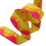 Wavy Dots Pink Orange Green - Zecca