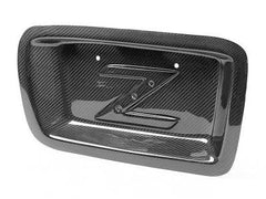 APR Carbon Fiber License Plate Backing 2003-2008 Nissan 350Z