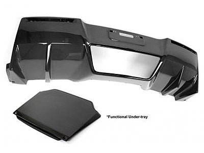 APR Carbon Fiber Rear Diffuser 2014-2016 Chevy Corvette C7 (With Under-Tray)