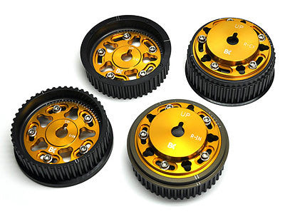 Brian Crower Adjustable Cam Gears Set 2004-2012 Subaru Impreza EJ257