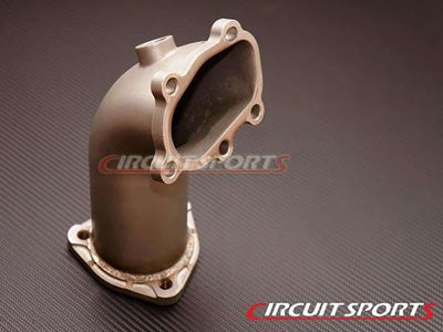 "Circuit Sports 3"" Cast Stainless Turbo Elbow SR20DET, S13, S14"