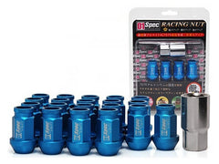 D1 Spec Blue Lug Nut Set 20 PC (M12x1.25, 7075 Aluminum)