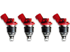 HKS 740CC Side Feed Fuel Injector Set SR20DET, KA24DE