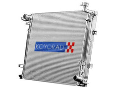 Koyorad V-Series Aluminum Racing Radiator 36MM Core 2008-2013 Mitsubishi Lancer EVO, Ralliart