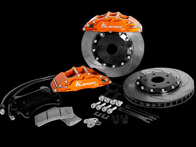 "Ksport ProComp Big Brake Kit 2007-2008 Infiniti G35 Sport Sedan (8 Piston, 14""x356mm)"