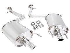 Megan Racing Axle Back Exhaust 2013 Lexus GS350 RWD