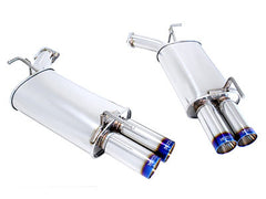 Megan Racing Axle Back Exhaust Burnt Roll Tips 2006-2010 Infiniti M35
