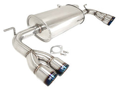 Megan Racing Axle Back Exhaust Burnt Roll Tips 2010-2012 Hyundai Genesis Coupe