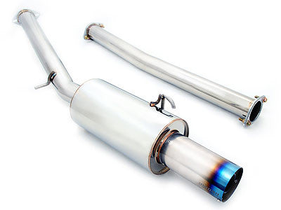 Megan Racing Catback Exhaust Drift Spec Titanium Tip 2008-2014 Mitsubishi Lancer EVO 10