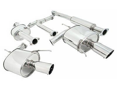 Megan Racing Catback Exhaust OE-RS 2004-2008 Acura TL