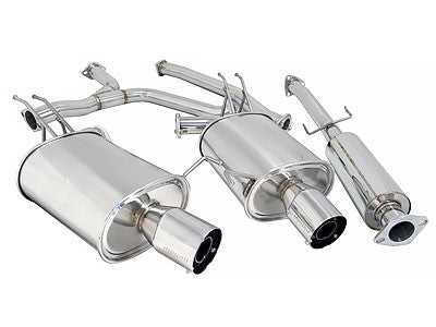 Megan Racing Catback Exhaust OE-RS 2008-2010 Honda Accord V6 Coupe