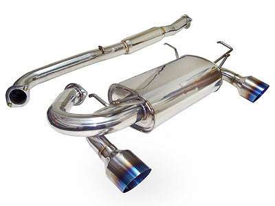Megan Racing Catback Exhaust OE-RS Burnt Roll Tips 2002-2007 Infiniti G35 Coupe