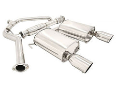 Megan Racing Catback Exhaust OE-RS Version 2 Single Tips 2005-2009 Subaru Legacy GT
