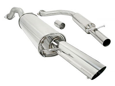 Megan Racing Catback Exhaust Turbo Type 2003 Volkswagen GTI 20th Anniversary Edition