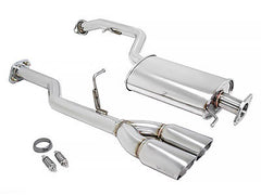 Megan Racing Catback Exhaust Type 2 Stainless Rolled Tips 2012-2014 Scion iQ
