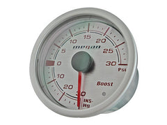 Megan Racing Turbo Boost Gauge 30PSI (52MM) Version 2