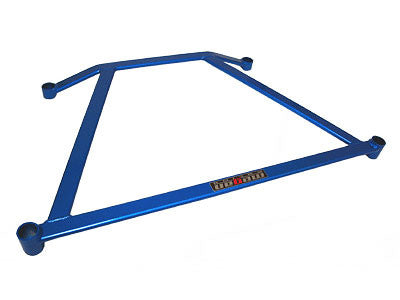 Megan Racing Blue Front Lower H-Brace 2001-2005 Honda Civic