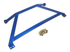 Megan Racing Blue Front Lower H-Brace 2006-2011 Honda Civic