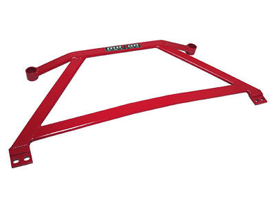 Megan Racing Red Front Lower H-Brace 2006-2011 Honda Civic