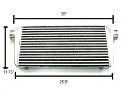 Megan Racing Large Universal Aluminum Intercooler