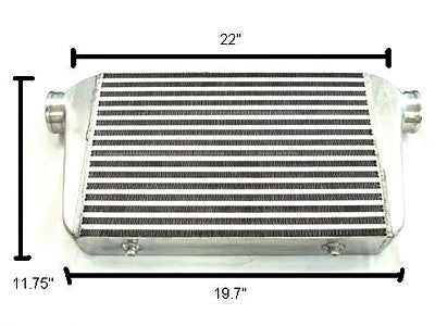 Megan Racing Small Universal Aluminum Intercooler