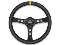 Momo MOD.07 350MM Black Leather Racing Steering Wheel