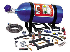NOS Powershot Nitrous System, Holley / Carter 4 BBL 125HP, 10LB Bottle