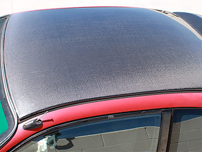 NRG Carbon Fiber Roof Cover Overlay 1996-2000 Honda Civic 2DR Coupe