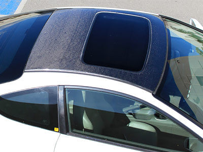 NRG Carbon Fiber Roof Cover Overlay w/Sunroof 1994-2001 Acura Integra