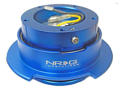 NRG Quick Release Kit Gen 2.5 (Blue Body / Blue Ring / 5 Hole)