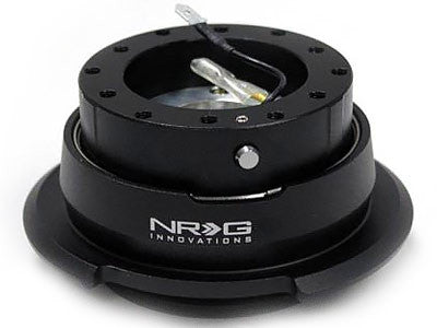 NRG Quick Release Kit Gen 2.8 (Black Body / Diamond Cut Ring)