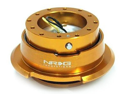NRG Quick Release Kit Gen 2.8 (Rose Gold Body / Diamond Cut Ring)
