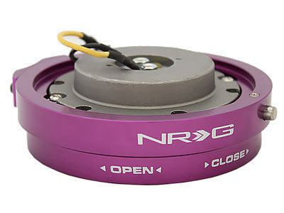 NRG Quick Release Kit Thin Version (Purple)
