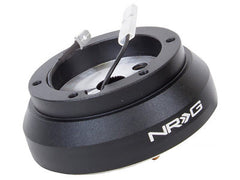 NRG Steering Wheel Short Hub 1990-2002 Infiniti G20 Black