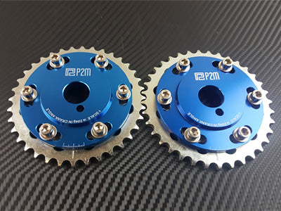 P2M Adjustable Cam Gear Sprockets 1989-1998 Nissan 240SX, Silvia, SR20DET