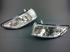 P2M Crystal Front Headlight Corner Lamps 1989-1994 Nissan 240SX, Silvia