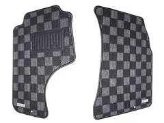 P2M Race Floor Carpet Mats Dark Grey 1989-1994 Nissan 240SX S13
