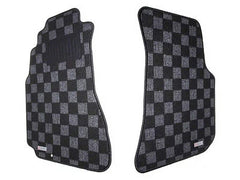 P2M Race Floor Carpet Mats Dark Grey 1995-1998 Nissan 240SX S14